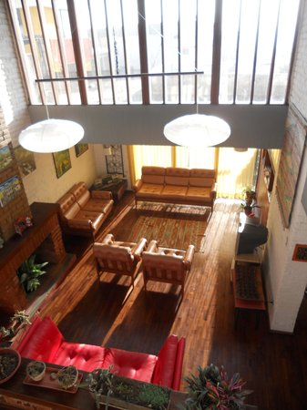 Hostal Casapaxi: lounge