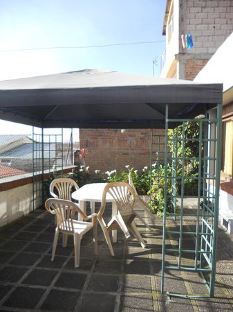 Hostal Casapaxi: patio