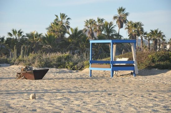 Rancho Pescadero: Serene little beach cabanas