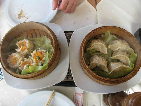 Golden Dragon: dumplings
