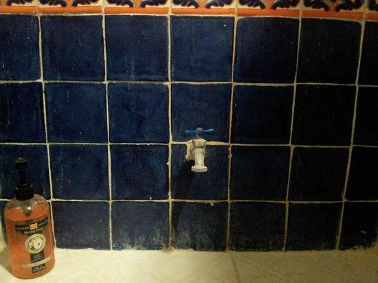Pehaltun Villas: Baño sucio