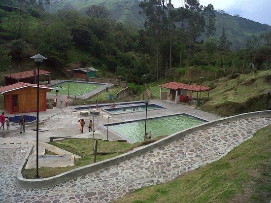 Hosteria Coconuco: Termales agua hirviendo