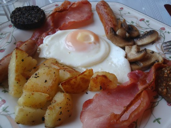 Denton B & B: Irish Breakfast