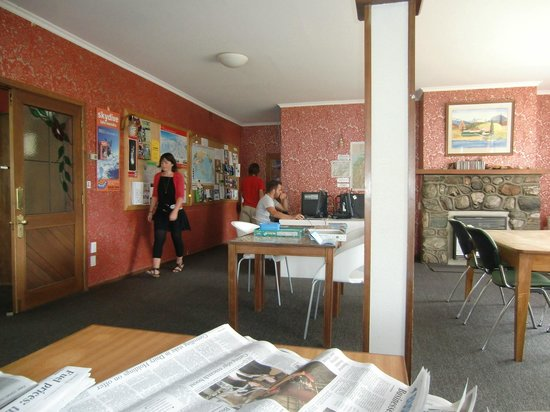วานากา บาเคกา: Lounge and dining room