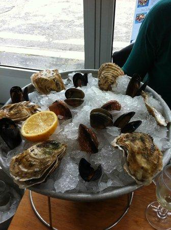 Restaurant La Barque Bleue: Plateau mezois