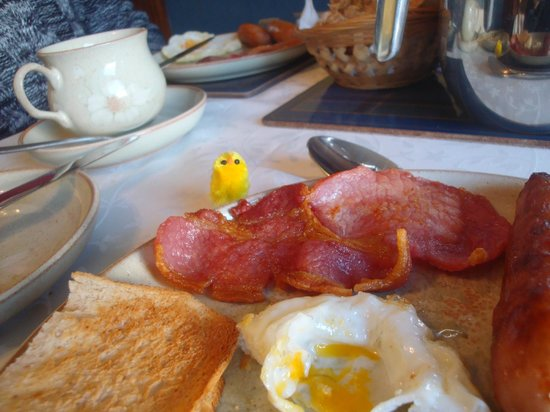 The Birches Bed and Breakfast: Breakfast at Easter (detail)