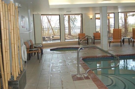 Courtyard Asheville: Hot Tub