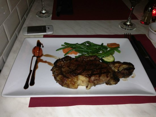 Brasserie New York: Food