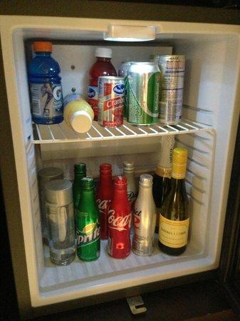 Ivy Boutique Hotel: Mini-fridge.
