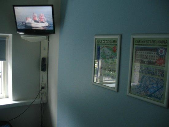 Hotel CABINN Scandinavia: TV