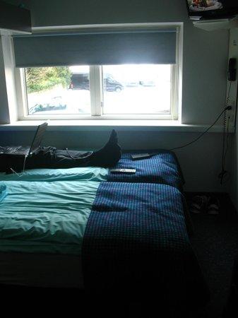 Hotel CABINN Scandinavia: Beds