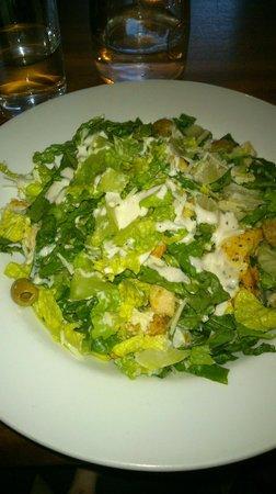 High Cafe: Lime Chicken Ceasar Salad