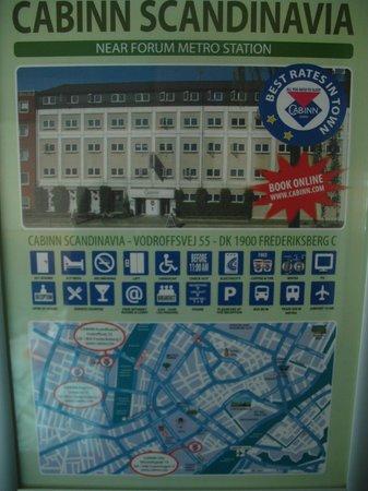 Hotel CABINN Scandinavia: Info