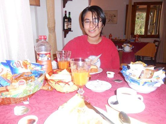 La Terrazza di Montepulciano: Desayuno