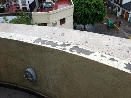 Rosario Suites: Balcón