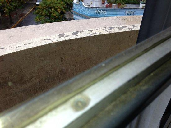 Rosario Suites: Marco de la ventana