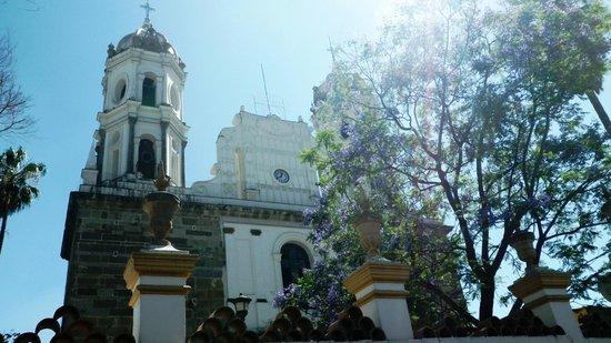 Santuario de nuestra se ora de la soledad picture of for Jardin hidalgo