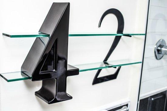42 The Calls: Bathroom Shelf