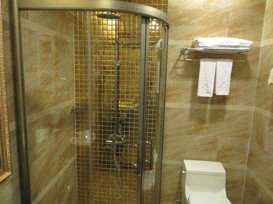 Hanoi Tirant Hotel: Shower