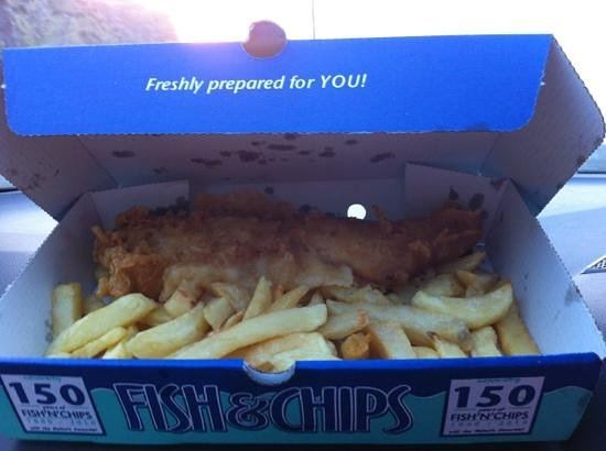 The Ilfracombe Fryer: fresh fish & chips just how I like it