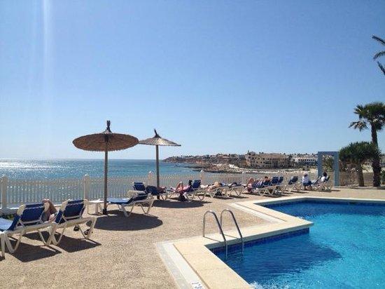 Servigroup La Zenia: Pool beach view
