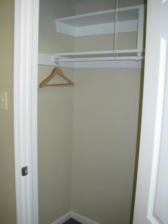 The Windsor Suites: Smaller closet