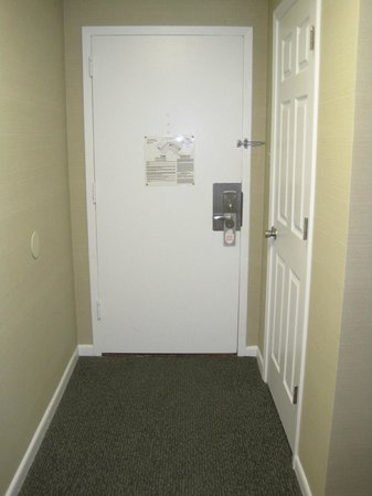 The Windsor Suites: Facing the door, with the small closet to the right.
