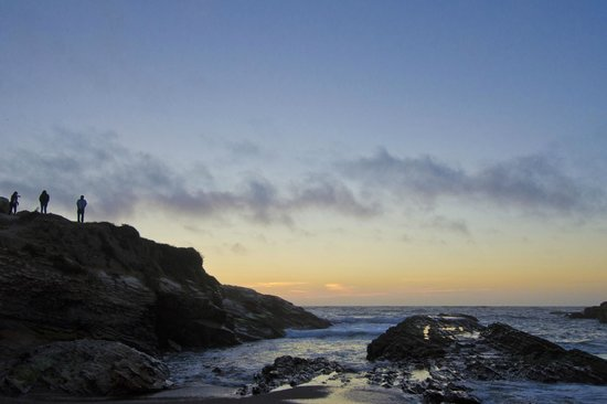 Montana de Oro State Park: Sunset at Spooner Cove