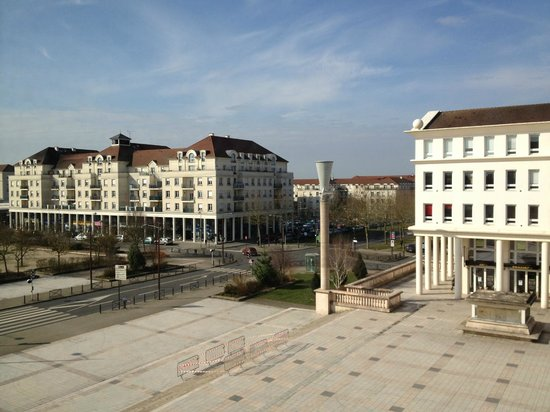 Mercure Marne la vallée Bussy St Georges: This is the view from our room,