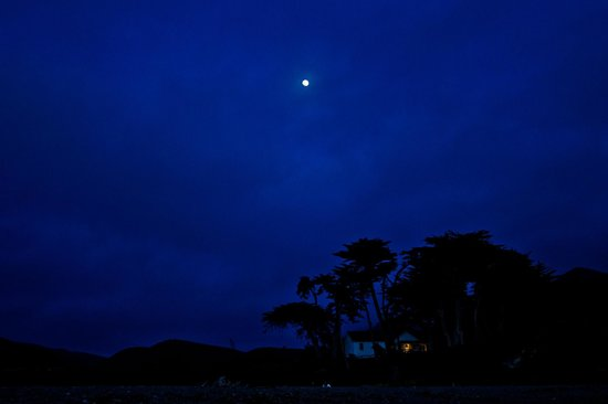 Montana de Oro State Park: Moonrise over Islay Creek Camp