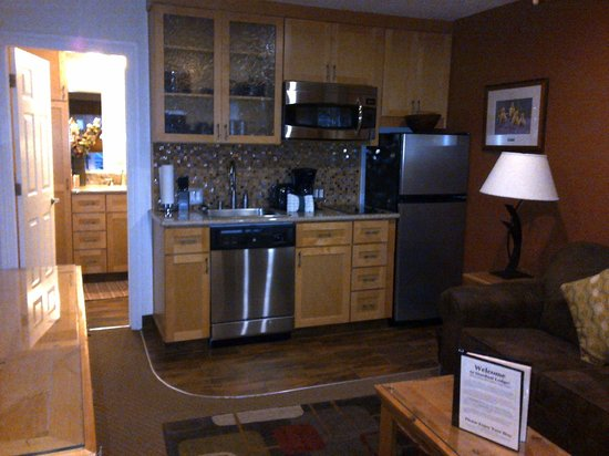 Stardust Lodge: Kitchenette