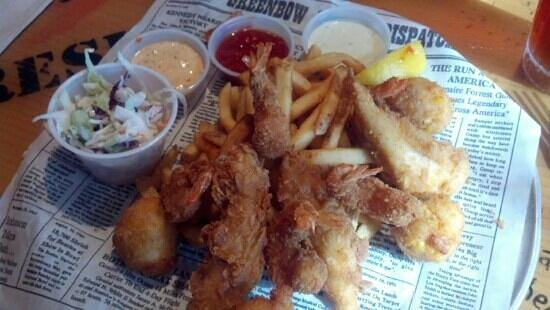 Bubba Gump Shrimp Co.: filled me up
