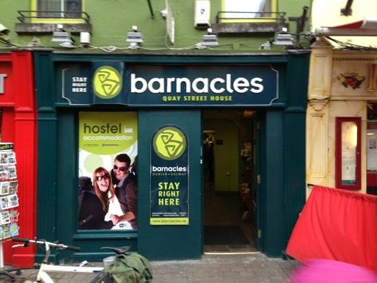 Barnacles Hostel Galway: l'ingresso