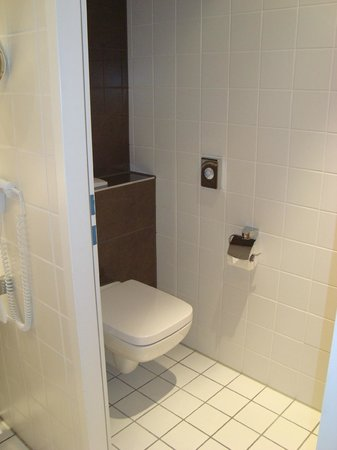 Welcome Hotel  Wesel: Les toilettes