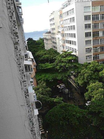 Ibiza Copacabana Hotel: Vista da sacada do Hotel