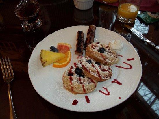 Arbor Hill Inn: Delicious breakfast