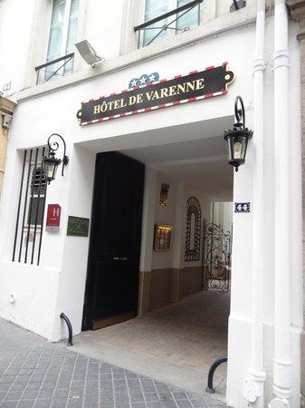 Hotel de Varenne: Front