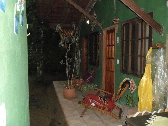 Pousada Ouro Verde: Entrada a las habitaciones