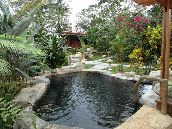 Hotel El Silencio del Campo: hot spring