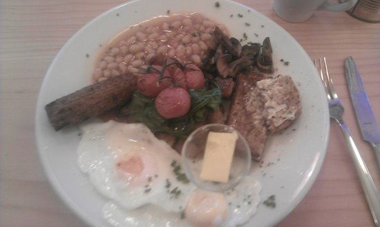 The Bristolian Cafe: Vegetarian Breakfast: (one of) the thing(s) that made The Bristolian a Legend!