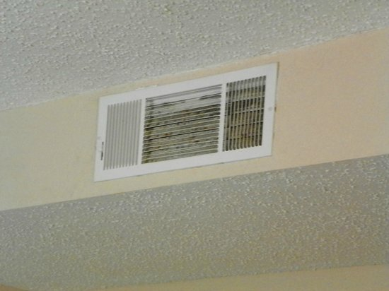 Homewood Suites by Hilton North Dallas-Plano: Dirty Vent
