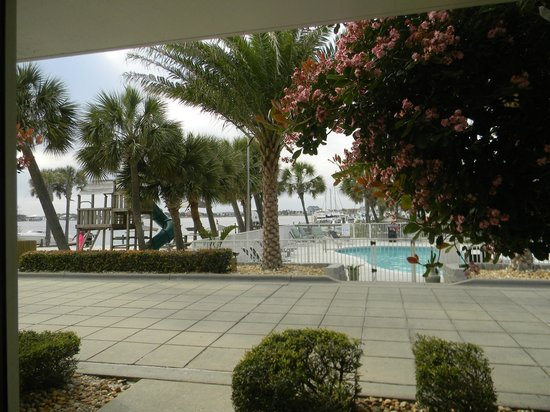 Travelodge Pensacola Beach: View outside our door