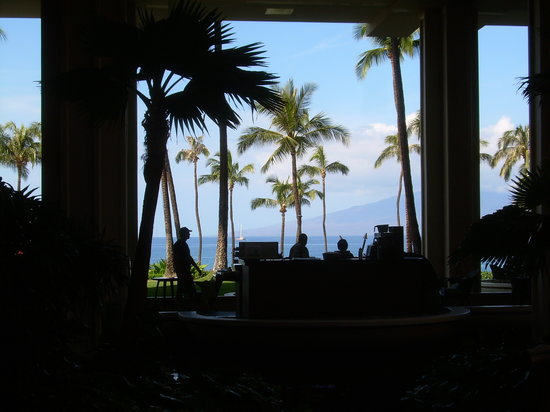 Hyatt Regency Maui Resort and Spa: The Good - atmospheric Views