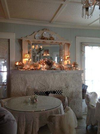 The Garden Gate Tea Room: interior