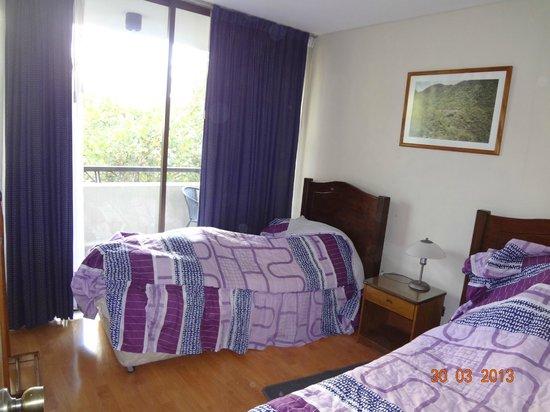 La Dehesa House: 2º  com 2 camas de solteiro.