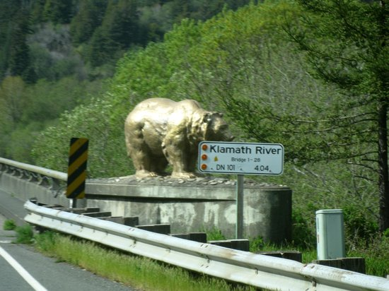 Golden Bear, Klamath River bridge