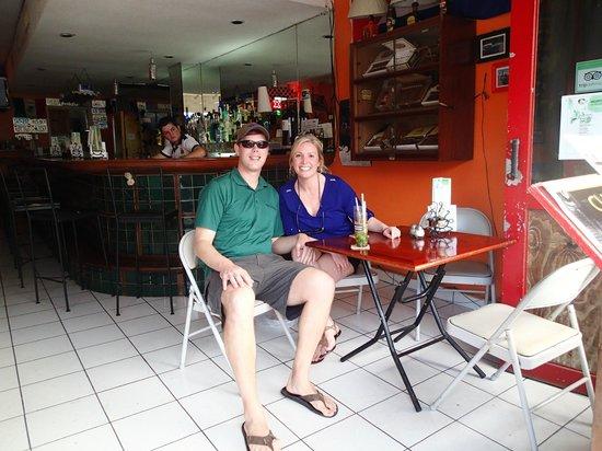 El Casino - La Casa Del Mojito: Smiling after a mojito or two