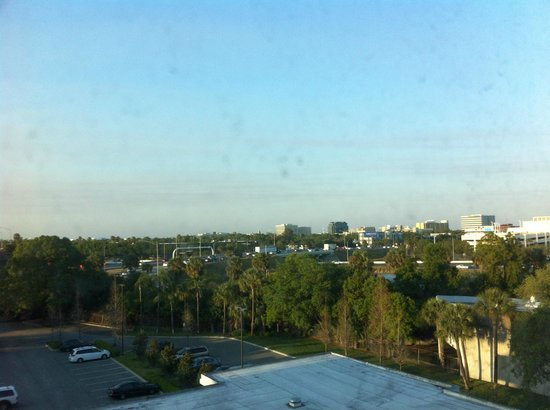 Crowne Plaza Tampa Westshore : Room view looking at Westshore Plaza