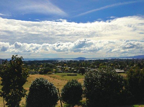 Hunts Farm: The view