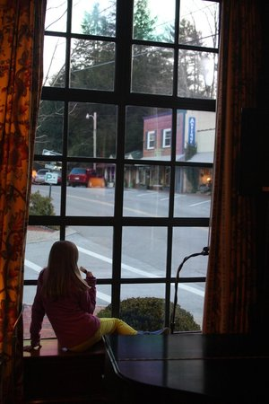 Old Edwards Inn and Spa: View from Library onto town